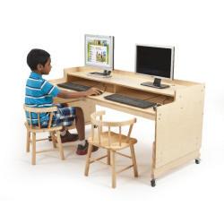 Jonti-Craft 3395JCE Single Tablet Table Stationary Adjustable Legs