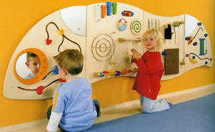 Wall Panels And Wall Activities Small Motor Skill Wall