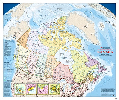 map of canada for kids. Atlas of Canada Maps.