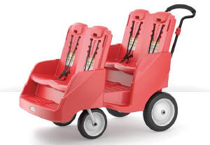 Gaggle4 Buggy-Red