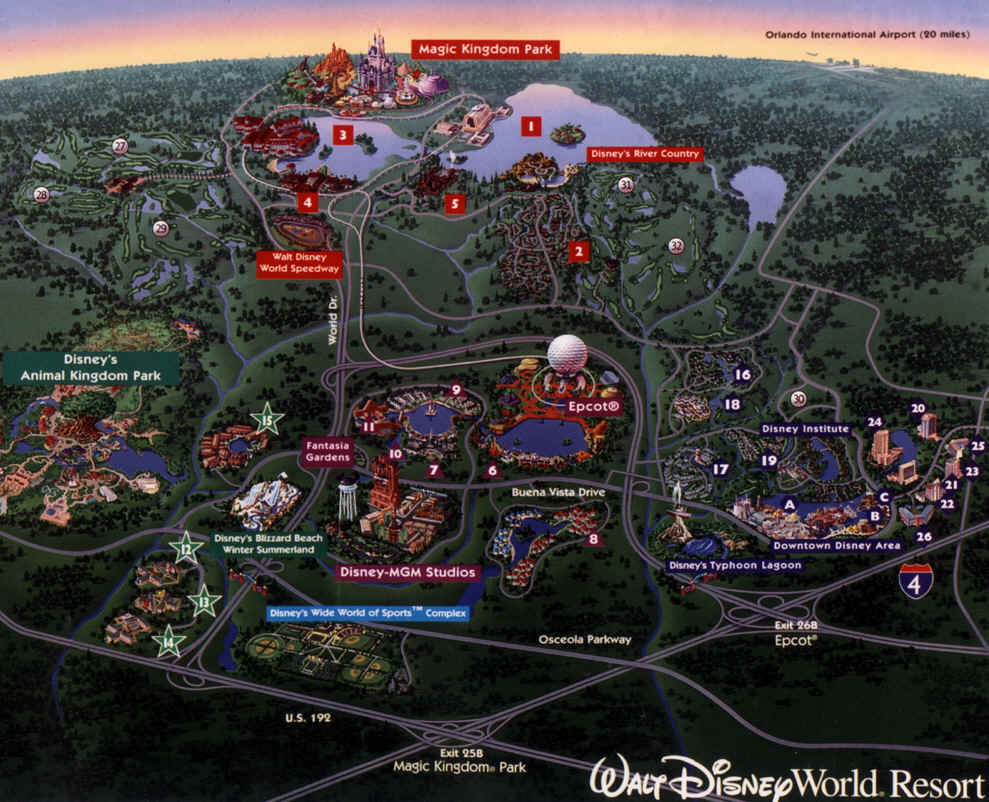 walt disney world resort hotels florida united states