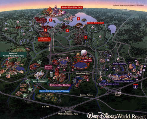 Walt Disney World® Attractions