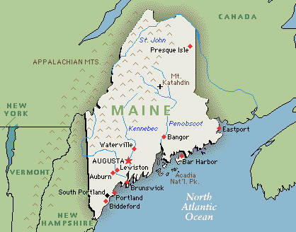Maine Ski Resorts United States