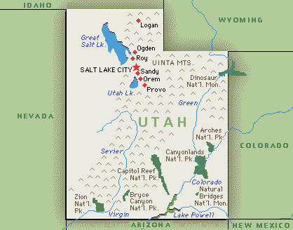 utah map utah hotels and resorts hotel fun 4 kids
